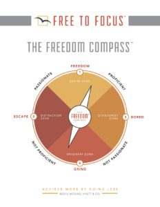 FREE TO FOCUS FREEDOM COMPASS