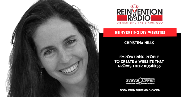 Christina Hills - Reinventing DIY Websites