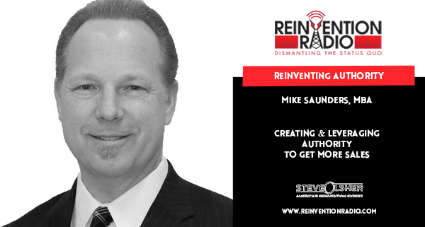 Mike Saunders, MBS, Reinventing Authority